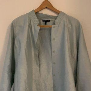 Silk Eileen Fisher Jacket